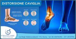 Distorsione della caviglia: rimedi e terapie