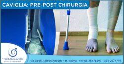 Trattamento pre e post operatorio della caviglia (frattura, rottura legamenti)