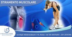 Stiramento muscolare: trattamento e tempi di recupero